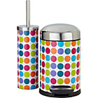 more details on ColourMatch Slow Closing Bin & Brush Set - Spots.