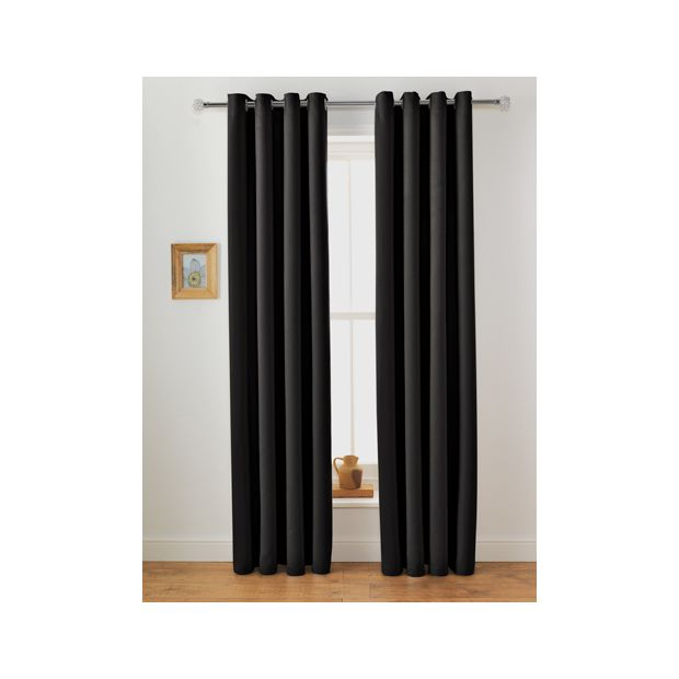 Buy Collection Twilight Blackout Unlined Curtain-168x183cm ...