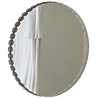 more details on Heart of House Soho Circular Scalloped Wall Mirror - White.