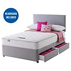 more details on Silentnight Middleton Pocket Memory Double 4 Drw Divan Bed.