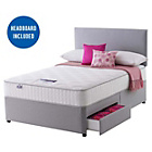 more details on Silentnight Middleton Pocket Memory Kingsize 2 Drw Divan Bed
