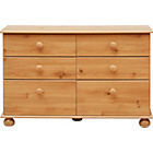 more details on New Stirling 3+3 Drawer Chest - Pine Effect.
