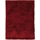 more details on Heart of House Bliss Deep Pile Shaggy Rug - Cranberry.