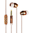 more details on Ted Baker Dover In Ear Headphones - Pink and Rose Gold.