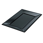 more details on Set of 9 Serving Platters - Black.