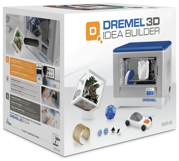 Buy dremel idea builder 3d printer at your 3d builder online