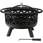 more details on Grill King 76cm Round Fire Pit.