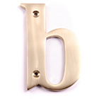 more details on House Nameplate Company Brass Letter Plaque - b.