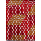 more details on Fusion Scottia Rug - 160 x 230cm - Red.