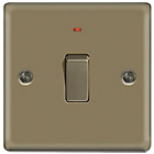 more details on Masterplug Double Pole LED Light Switch - Pearl Nickel.