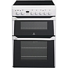 more details on Indesit ID60C2W Double Electric Cooker - White.