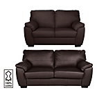 more details on Collection Milano Leather Large and Regular Sofas-Chocolate.