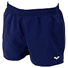 more details on Arena M Fundamental Boxer Navy and White Swim Suit.