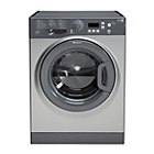 more details on Hotpoint WMXTF842G 8KG 1400 Spin Washing Machine - Graphite.
