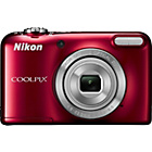 more details on Nikon Coolpix L31 16MP 5x Zoom Compact Digital Camera - Red.