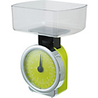 more details on ColourMatch Mechanical Kitchen Scales - Green.