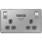 more details on Masterplug 2G 13A Socket Switched 2.1A USB Charger 2 Port.