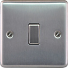 more details on Masterplug Single 2 Way Light Switch - Brushed Steel.