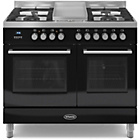 more details on Britannia RC-10TG-QL-K Dual Fuel Range Cooker - Black.