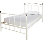 more details on Witon Single Bed Frame - Ivory.