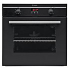 more details on Indesit FIM33KAB Single Electric Oven - Black.