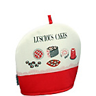 more details on Good Housekeeping Luscious Cakes Tea Cosy - Red.