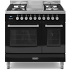 more details on Britannia RC-9TG-QL-K 90cm Dual Fuel Range Cooker - Black.