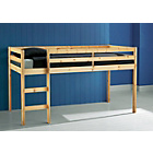 more details on Kendall Mid Sleeper Shorty Bed Frame - Pine.