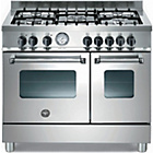 more details on Bertazzoni AD905MFEXE Master Dual Fuel Range Cooker - SSteel