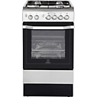 more details on Indesit I5GG1X Gas Cooker - Stainless Steel/Ins/Del/Rec.