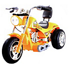 more details on Chopper Style Ride On Bike - Yellow.