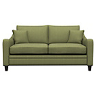 more details on Heart of House Newbury Regular Fabric Check Sofa - Olive.