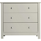 more details on Osaka 3 Drawer Chest - Putty.