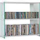 more details on Glass Sided Multi Storage Unit - White.