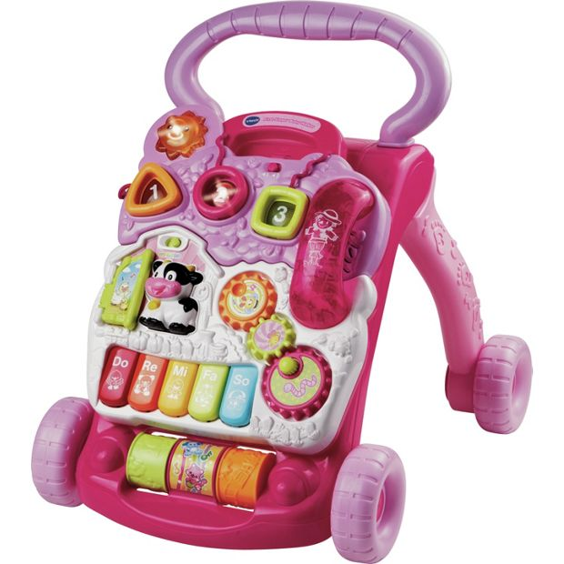 buy vtech first steps baby walker pink at your online shop for baby walkers. Black Bedroom Furniture Sets. Home Design Ideas