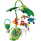 more details on Fisher-Price Rainforest Peek-a-Boo Leaves Musical Mobile.
