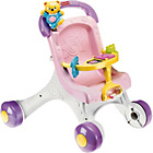more details on Fisher-Price Stroll Along Baby Walker - Pink.