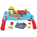more details on Mega Bloks First Builders 3-in-1 Build 'n' Learn Table.