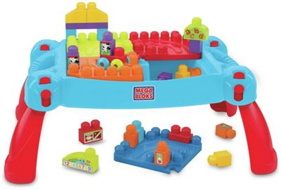 Buy Mega Bloks First Builders Build N Learn Table At