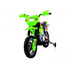 more details on Dirt Bike Style Ride On Bike - Green.