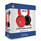 more details on A4T CP01 Red Wired Gaming Headset for PS3.