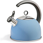 more details on Morphy Richards Accents Whistling Stove Top Kettle - CF Blue