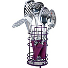 more details on ColourMatch Stainless Steel 5 Pc Kitchen Utensils Set-Purple