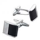 more details on Onyx and Mother of Pearl Cufflinks.