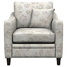 more details on Heart of House Newbury Fabric Floral Cuddle Chair - Natural.