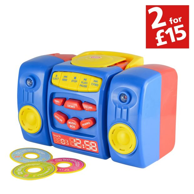 Buy Chad Valley I M A Cd Player Blue At Argos Co Uk