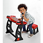 more details on Chad Valley Sing Along Keyboard, Stand and Stool - Red.