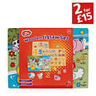 more details on Chad Valley PlaySmart Farm Animals Wooden Jigsaw Set.