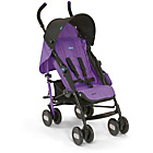 more details on Chicco Echo Stroller - Purple Jam.