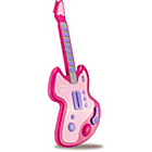 more details on Chad Valley Electronic Toy Guitar - Pink.